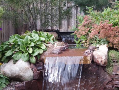 stone waterfall designs